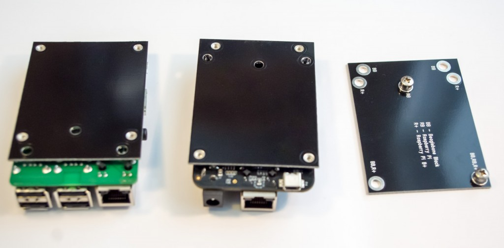 LCD holder - 3 boards