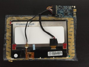 "7"" LCD with Gen2 board"